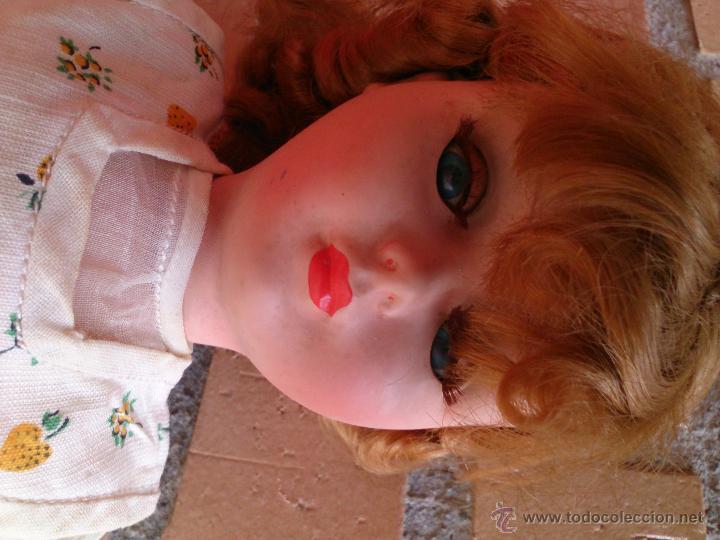 Muñecas Extranjeras: Muñeca francesa Bella años 50-60, Rhodoid - Foto 8 - 50555995