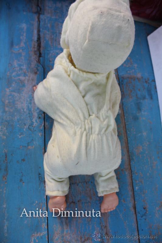 Muñecas Extranjeras: ANTIGUO MUÑECO A PILAS - CALL ME BABY - ROSKO TOY - FUNCIONA - AÑOS 60 - GATEA Y HABLA COMO UN BEBE - Foto 12 - 50983401