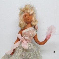 Bambole Internazionali: ANTIGUA MUÑECA DE ESPUMA Y ALAMBRE DE PEYNET AÑOS 50-60 POUPÉE. Lote 51001556