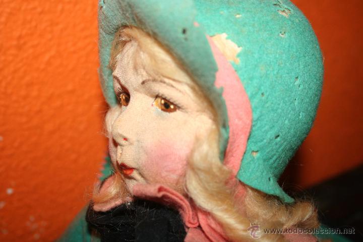 Muñecas Extranjeras: antigua muñeca lenci o similar - Foto 2 - 51376126