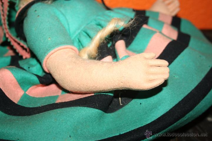 Muñecas Extranjeras: antigua muñeca lenci o similar - Foto 3 - 51376126