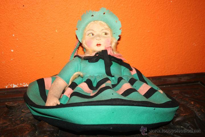 Muñecas Extranjeras: antigua muñeca lenci o similar - Foto 8 - 51376126