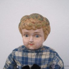 Muñecas Extranjeras: MUÑECA ALEMANA CABEZA Y PECTORAL DE METAL, 1888, 55 CM.. Lote 51603121