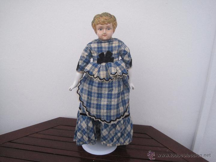 Muñecas Extranjeras: MUÑECA ALEMANA CABEZA Y PECTORAL DE METAL, 1888, 55 CM. - Foto 2 - 51603121