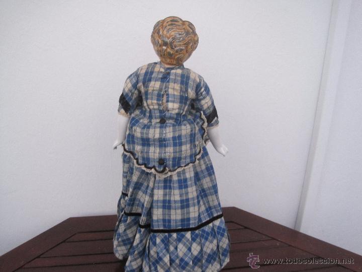 Muñecas Extranjeras: MUÑECA ALEMANA CABEZA Y PECTORAL DE METAL, 1888, 55 CM. - Foto 3 - 51603121