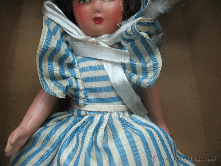 Muñecas Extranjeras: UNICA - Antigua muñeca belga con vestido - Foto 3 - 52477457