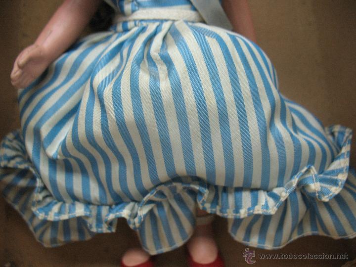 Muñecas Extranjeras: UNICA - Antigua muñeca belga con vestido - Foto 4 - 52477457
