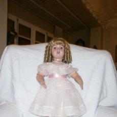 Muñecas Extranjeras: MUÑECA TODA DE CARTÓN PIEDRA AÑOS 20. Lote 52523812