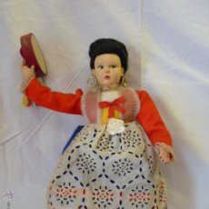 Muñecas Extranjeras: MUÑECA ITALIANA DE LA CASA MAGIS, REALIZADA EN FIELTRO. MEDIADOS DEL SIGLO XX.. Lote 52639395