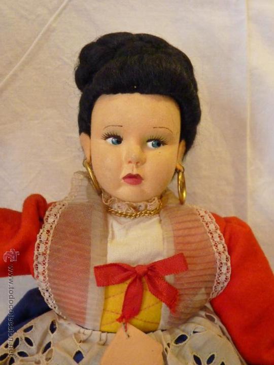 Muñecas Extranjeras: MUÑECA ITALIANA DE LA CASA MAGIS, REALIZADA EN FIELTRO. MEDIADOS DEL SIGLO XX. - Foto 2 - 52639395