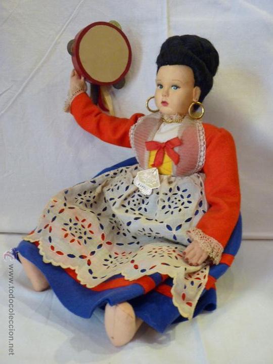 Muñecas Extranjeras: MUÑECA ITALIANA DE LA CASA MAGIS, REALIZADA EN FIELTRO. MEDIADOS DEL SIGLO XX. - Foto 3 - 52639395