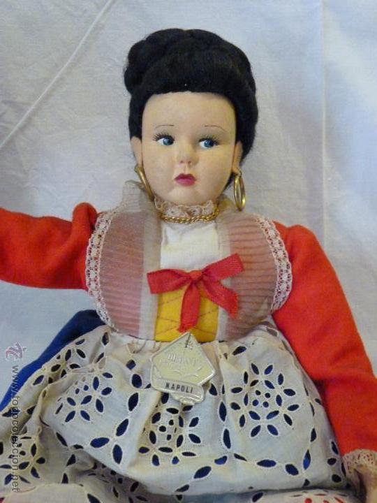 Muñecas Extranjeras: MUÑECA ITALIANA DE LA CASA MAGIS, REALIZADA EN FIELTRO. MEDIADOS DEL SIGLO XX. - Foto 4 - 52639395