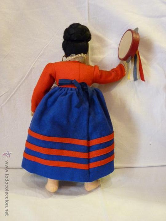 Muñecas Extranjeras: MUÑECA ITALIANA DE LA CASA MAGIS, REALIZADA EN FIELTRO. MEDIADOS DEL SIGLO XX. - Foto 6 - 52639395