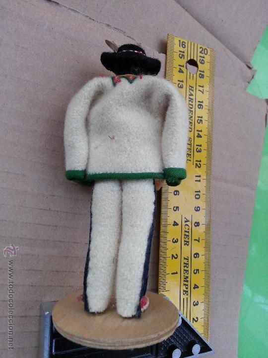 Muñecas Extranjeras: precioso muñeco muñeca traje regional realizado a mano, cabeza barro pintada a mano poland - Foto 2 - 52938548