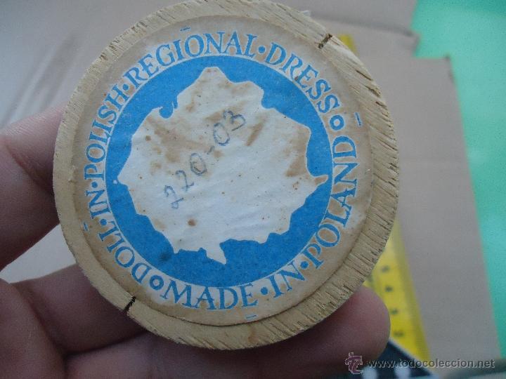 Muñecas Extranjeras: precioso muñeco muñeca traje regional realizado a mano, cabeza barro pintada a mano poland - Foto 6 - 52938660