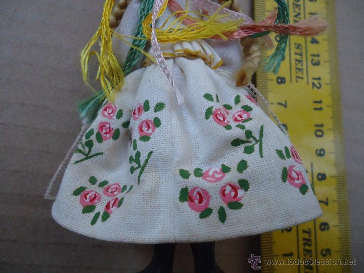 Muñecas Extranjeras: precioso muñeco muñeca traje regional realizado a mano, cabeza barro pintada a mano poland - Foto 8 - 52938660