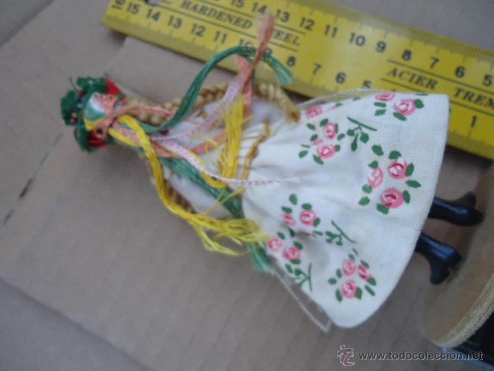 Muñecas Extranjeras: precioso muñeco muñeca traje regional realizado a mano, cabeza barro pintada a mano poland - Foto 9 - 52938660