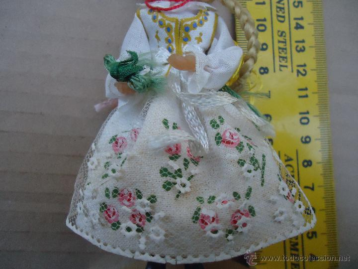 Muñecas Extranjeras: precioso muñeco muñeca traje regional realizado a mano, cabeza barro pintada a mano poland - Foto 11 - 52938660