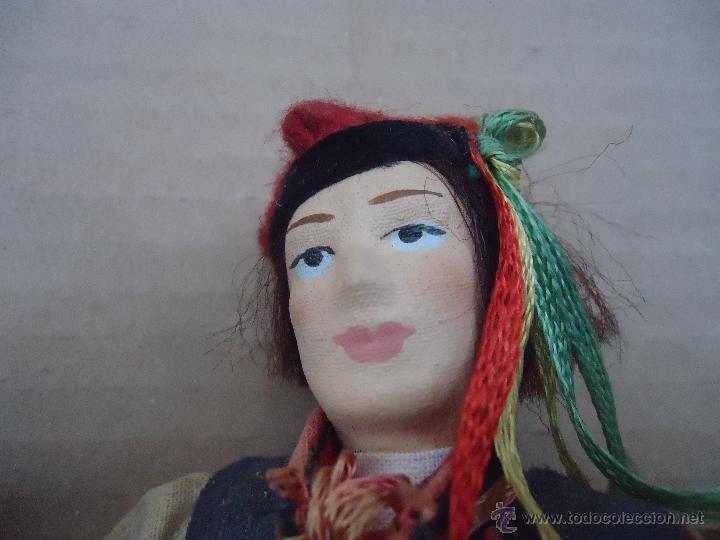 Muñecas Extranjeras: preciosa pareja muñeco muñeca traje regional realizado y pintado a mano, - Foto 6 - 52939326