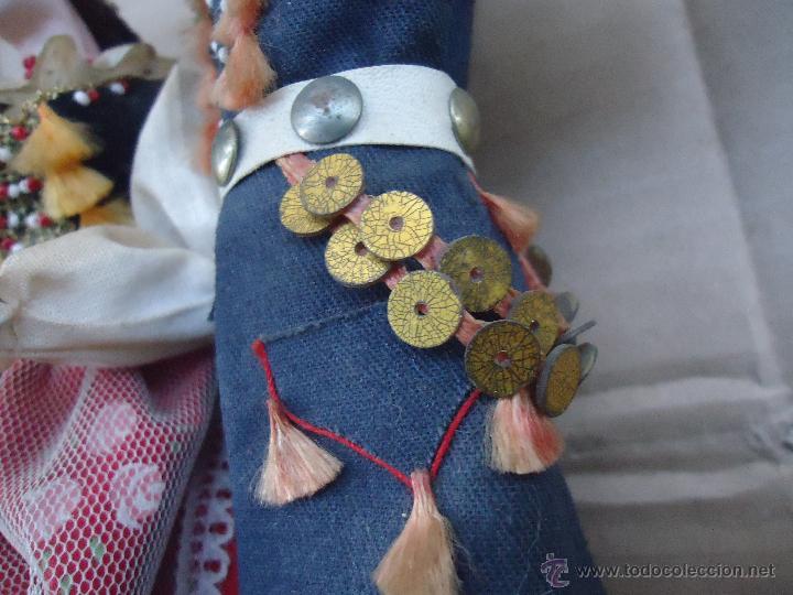 Muñecas Extranjeras: preciosa pareja muñeco muñeca traje regional realizado y pintado a mano, - Foto 16 - 52939326
