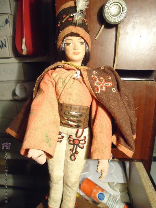 Muñecas Extranjeras: precios muñeco muñeca traje regional realizado y pintado a mano, - Foto 2 - 52939603