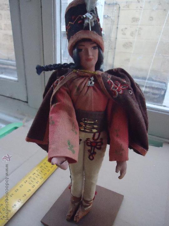 Muñecas Extranjeras: precios muñeco muñeca traje regional realizado y pintado a mano, - Foto 8 - 52939603