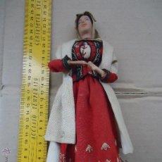 Muñecas Extranjeras: PRECIOS MUÑECO MUÑECA TRAJE REGIONAL REALIZADO Y PINTADO A MANO, . Lote 52939844