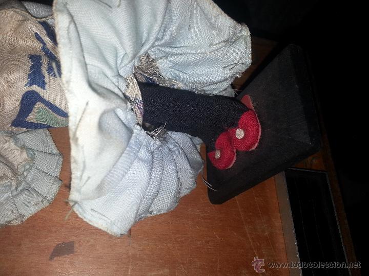Muñecas Extranjeras: antigua muñeca negra cha cha cha recogida algodon o samba culo cojin - Foto 2 - 52944848