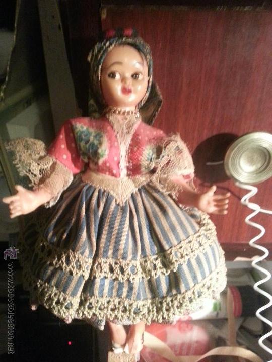 Muñecas Extranjeras: antigua muñeca ron bellos ropages - Foto 3 - 52945374
