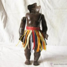 Muñecas Extranjeras: MUÑECA NEGRA DE CELULOIDE DE LA MARCA DE LA TORTUGA. Lote 53505709