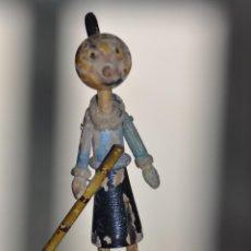 Muñecas Extranjeras: ANTIGUO JUGUETE DE MADERA OLIVIA NOVIA DE POPEYE . Lote 53568555