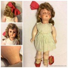 Muñecas Extranjeras: MUÑECA ALEMANA DE SIMÓN HALBIG -ANDADORA DE 45CM CON DEFECTOS. PARA RESTAURAR. Lote 53747633
