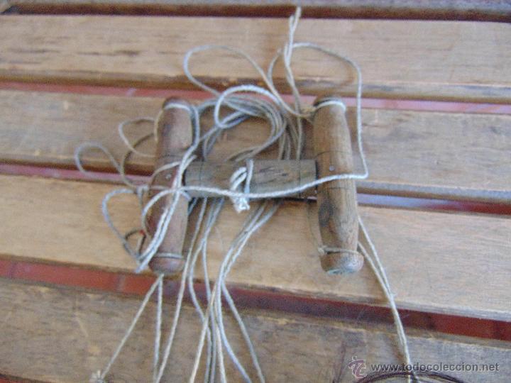 Muñecas Extranjeras: MARIONETA TITERE TAILANDESA EN MADERA Y TELA MIDE LA FIGURA 60 CM - Foto 2 - 53764339
