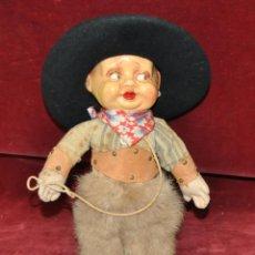Muñecas Extranjeras: INTERESANTE MUÑECO DE CARACTER DE LOS AÑOS 30-40. DESCONOZCO MANUFACTURA. Lote 54263972