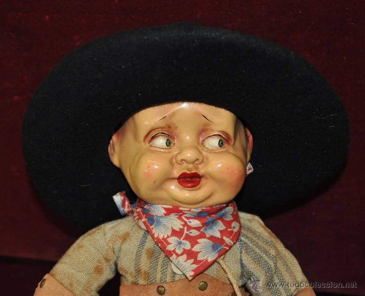 Muñecas Extranjeras: INTERESANTE MUÑECO DE CARACTER DE LOS AÑOS 30-40. DESCONOZCO MANUFACTURA - Foto 4 - 54263972
