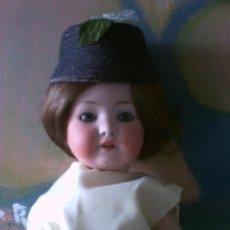 Muñecas Extranjeras: MUÑECA ANTIGUA PORCELANA HEUBACH KOPPELSDORF HACIA 1920. Lote 54293139