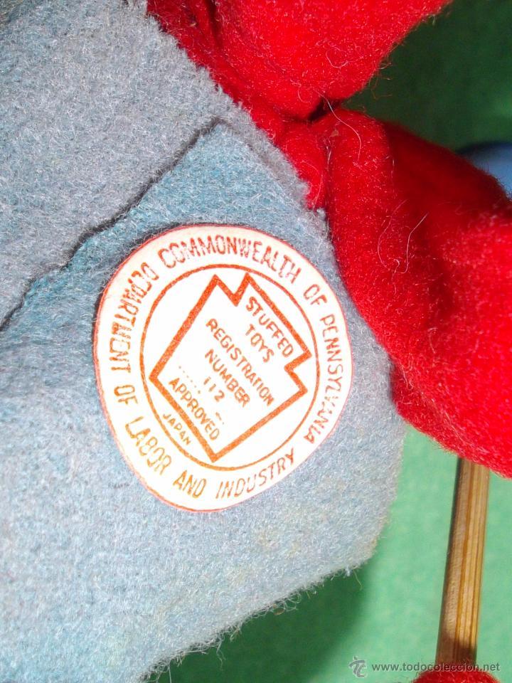Muñecas Extranjeras: PRECIOSA MUÑECA ESQUIADORA FIELTRO ALAMBRE NAPCO JAPAN AÑOS 50 PINTADO ESQUI SKI ROLDAN KLUMPE - Foto 8 - 54361449