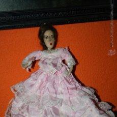 Muñecas Extranjeras: ANTIGUA MUÑECA LAMPARA COMO DE FIELTRO O DE MELOCOTON. Lote 54382864