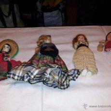 Muñecas Extranjeras: LOTE MUÑECAS REGIONALES EXTRANJERAS. Lote 54737583