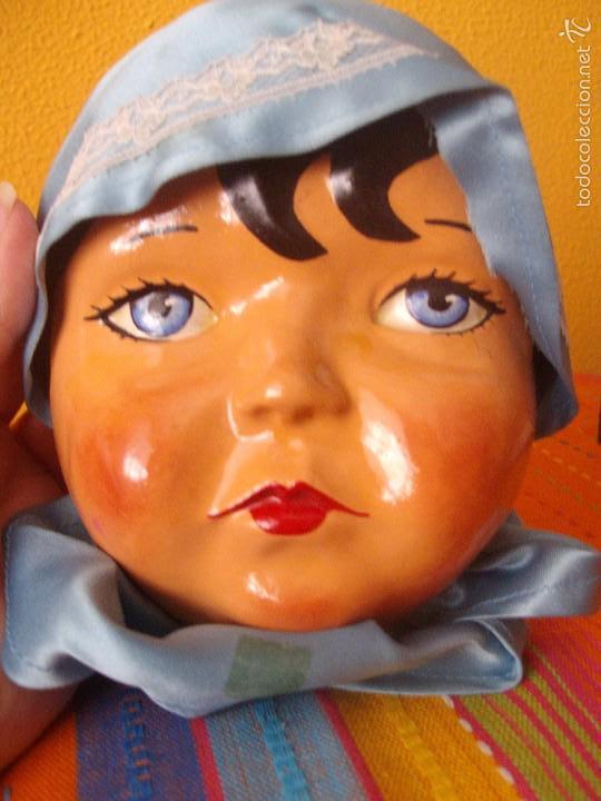 CARA MUÑECA ANTIGUA (Juguetes - Muñeca Internacional Antigua - Otras Muñecas)