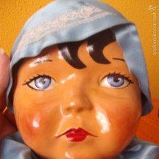 Muñecas Extranjeras: CARA MUÑECA ANTIGUA. Lote 55375657