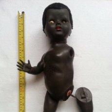 Muñecas Extranjeras: ANTIGUA MUÑECA MORENA FALITOY HECHA EN INGLATERRA DE PLASTICO DURO AÑO 1940. Lote 55695751