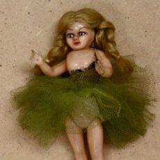 Muñecas Extranjeras: MUÑECA ANTIGUA CON OJO DURMIENTE. BAILARINA. Lote 56722506