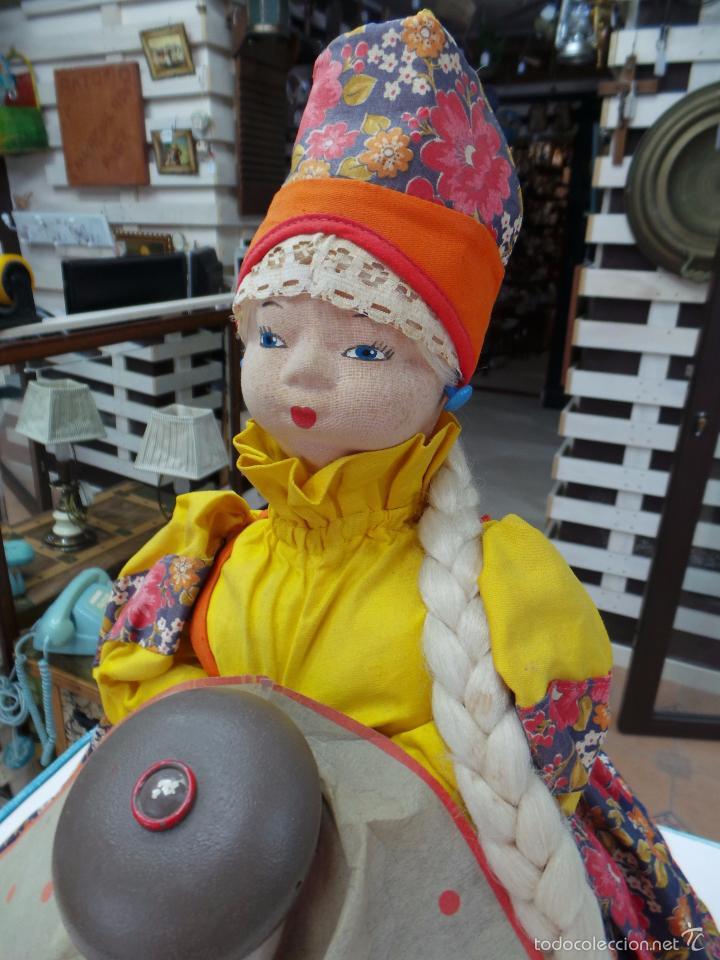 Muñecas Extranjeras: MUÑECA RUSA DE TRAPO CUBRE TETERA - Foto 4 - 56806532