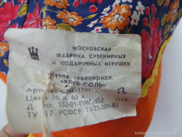 Muñecas Extranjeras: MUÑECA RUSA DE TRAPO CUBRE TETERA - Foto 13 - 56806532