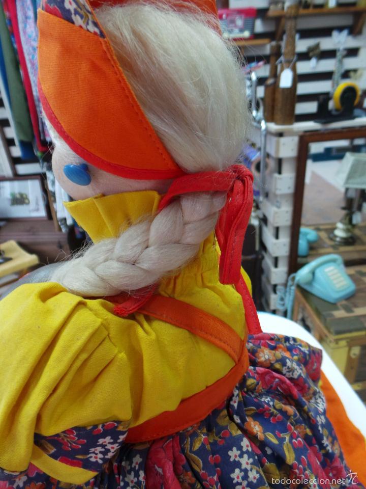 Muñecas Extranjeras: MUÑECA RUSA DE TRAPO CUBRE TETERA - Foto 14 - 56806532