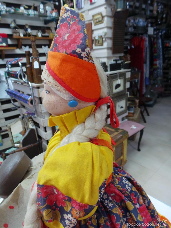 Muñecas Extranjeras: MUÑECA RUSA DE TRAPO CUBRE TETERA - Foto 15 - 56806532