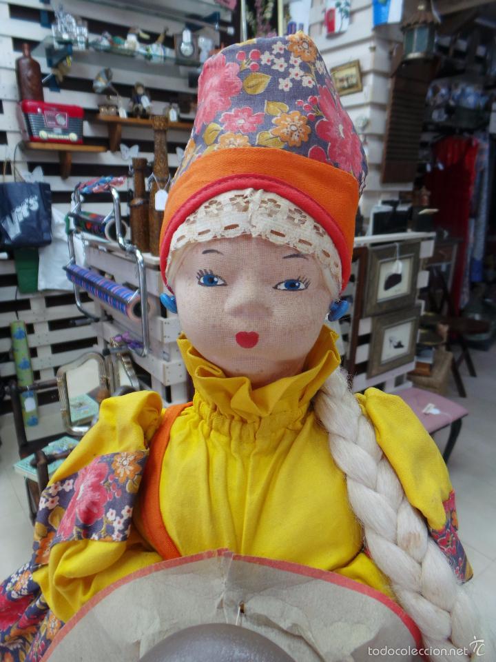 Muñecas Extranjeras: MUÑECA RUSA DE TRAPO CUBRE TETERA - Foto 16 - 56806532