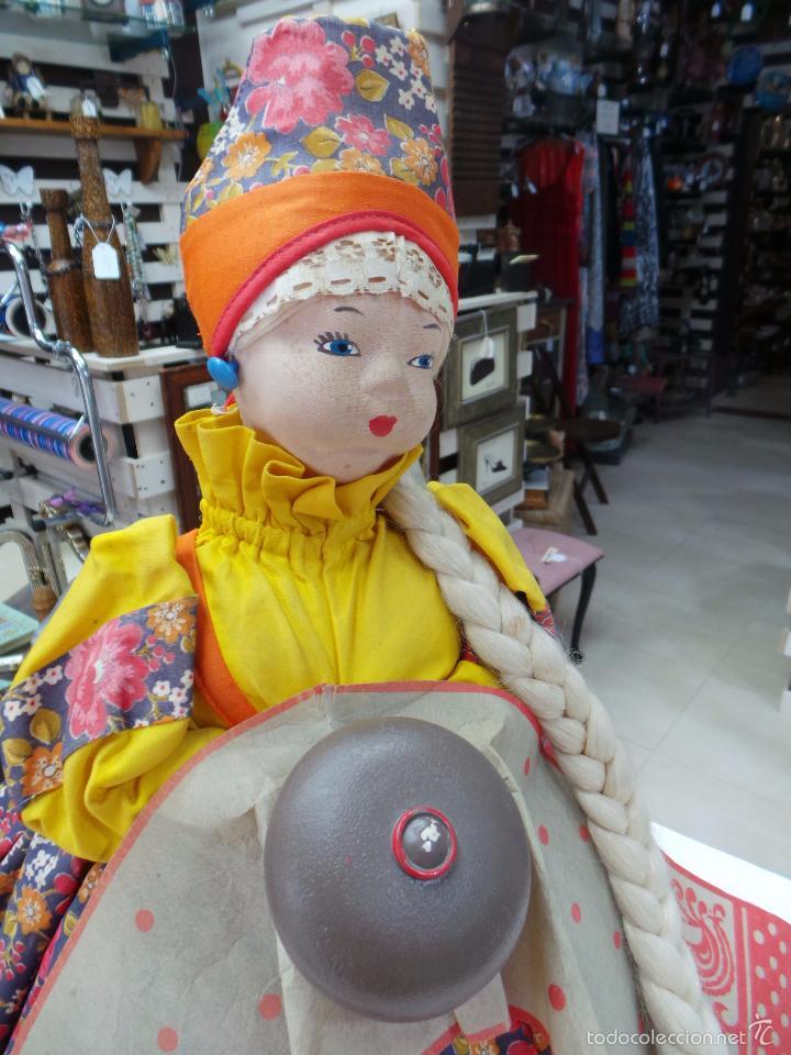 Muñecas Extranjeras: MUÑECA RUSA DE TRAPO CUBRE TETERA - Foto 17 - 56806532