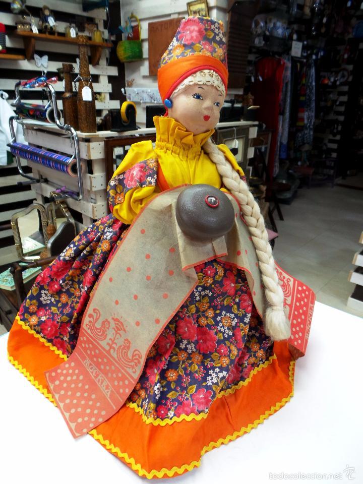 Muñecas Extranjeras: MUÑECA RUSA DE TRAPO CUBRE TETERA - Foto 20 - 56806532